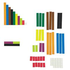 LEARNING RESOURCES MAGETIC CUISENAIRE RODS