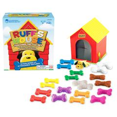 LEARNING RESOURCES RUFFS HOUSE TEACHING TACTILE SET