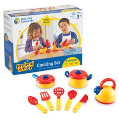 LEARNING RESOURCES PRETEND & PLAY COOKING SET 10 PCS