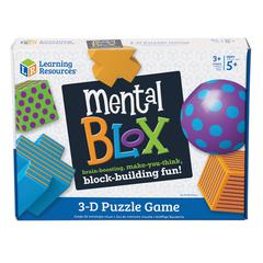 LEARNING RESOURCES MENTAL BLOX CRITICAL THINKING SET