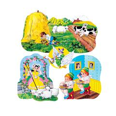 FLANNELBOARDS SET 3 NURSERY RHYMES PRE CUT