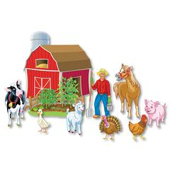 LITTLE FOLKS VISUALS PRECUT OLD MACDONALD HAD A FARM