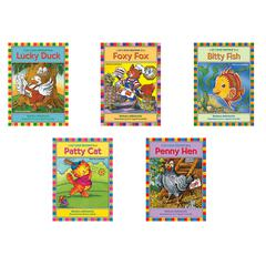 LERNER PUBLICATIONS LETS READ TOGETHER SHORT VOWELS 5 BOOK SET