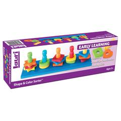 PLAYMONSTER(PATCH) SHAPE & COLOR SORTER AGES 2-6