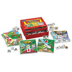 PLAYMONSTER(PATCH) BEGINNING SOUNDS PHONICS LEARNING CENTER KIT