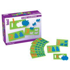 PLAYMONSTER(PATCH) NUMBER PLAY 10/PK AGES 3-6