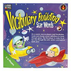 VOCABULARY BUILDING STAR WORDS BLUE
