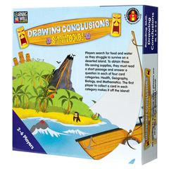EDUPRESS DRAWING CONCLUSION SHIPWRECKED BLUE