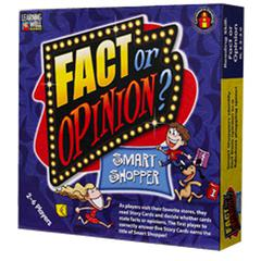 EDUPRESS FACT OR OPINION SHOPPING MALL BLUE