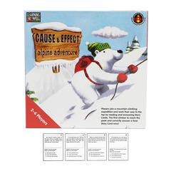 EDUPRESS CAUSE & EFFECT ALPINE ADVENTR RED