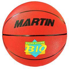 DICK MARTIN SPORTS BASKETBALL OFFICIAL ORANGE RUBBER NYLON WOUND