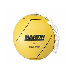 DICK MARTIN SPORTS TETHERBALL RUBBER NYLON WOUND W/ ROPE