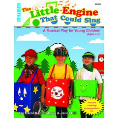 MILLIKEN MUSICALS LITTLE ENGINE THAT COULD SING BOOK & CD