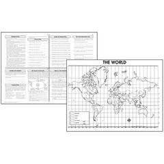 ACTIVITY POSTERS THE WORLD 30/SET GR 4-8