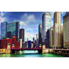 CITYSCAPES FLOOR PUZZLE