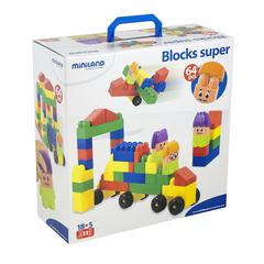 MINILAND EDUCATIONAL BLOCKS SUPER 64 PCS