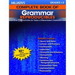 MILLIKENS GR 1-2 COMPLETE BOOK OF GRAMMAR REPRODUCIBLES