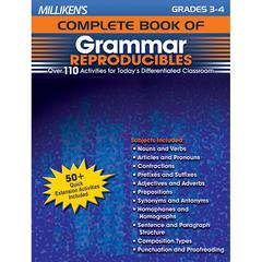 MILLIKENS GR 3-4 COMPLETE BOOK OF GRAMMAR REPRODUCIBLES