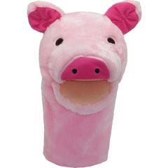 GET READY KIDS PLUSHPUPS HAND PUPPET PIG
