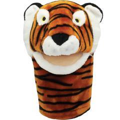 GET READY KIDS PLUSHPUPS HAND PUPPET TIGER