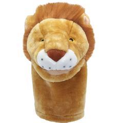 GET READY KIDS PLUSHPUPS HAND PUPPET LION