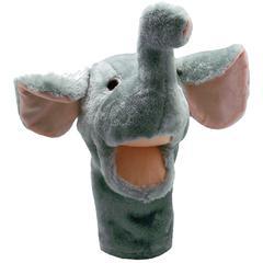 GET READY KIDS PLUSHPUPS HAND PUPPET ELEPHANT