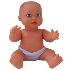 LARGE VINYL GENDER NEUTRAL CAUCASIAN BABY DOLL