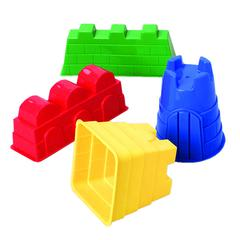 MARVEL EDUCATION SAND CASTLE MOLDS 4/SET