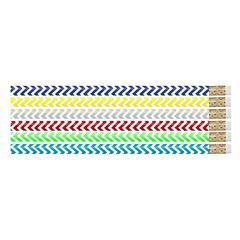 CHEVRON CHIC PENCIL BOX OF 144