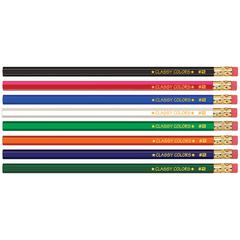 MUSGRAVE NO 2 GROSS WOOD CASE 144CT HEX PENCILS ASSORTED COLORS
