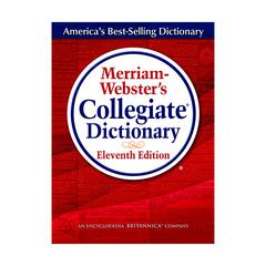 MERRIAM - WEBSTER MERRIAM WEBSTERS COLLEGIATE DICTIONARY 11TH ED INDEXED W/CD