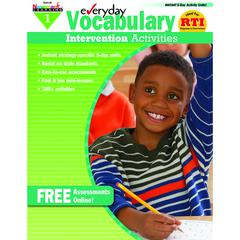 NEWMARK LEARNING EVERYDAY VOCABULARY GR 1 INTERVENTION ACTIVITIES