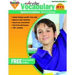 EVERYDAY VOCABULARY GR 3 INTERVENTION ACTIVITIES