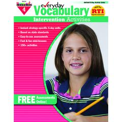 NEWMARK LEARNING EVERYDAY VOCABULARY GR 4 INTERVENTION ACTIVITIES