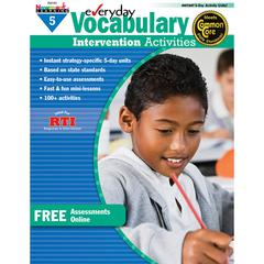 NEWMARK LEARNING EVERYDAY VOCABULARY GR 5 INTERVENTION ACTIVITIES
