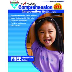 NEWMARK LEARNING EVERYDAY COMPREHENSION GR K INTERVENTION ACTIVITIES