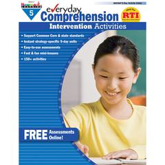 NEWMARK LEARNING EVERYDAY COMPREHENSION GR 5 INTERVENTION ACTIVITIES