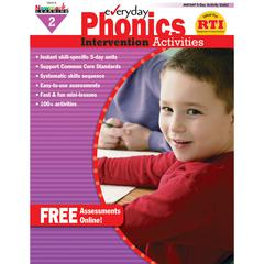 NEWMARK LEARNING EVERYDAY PHONICS GR 2 INTERVENTION ACTIVITIES