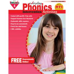 NEWMARK LEARNING EVERYDAY PHONICS GR 4 INTERVENTION ACTIVITIES