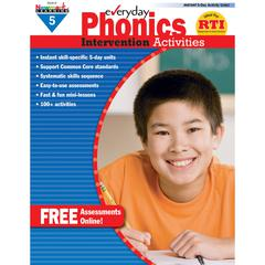 NEWMARK LEARNING EVERYDAY PHONICS GR 5 INTERVENTION ACTIVITIES
