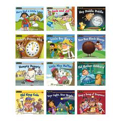 NEWMARK LEARNING NURSERY RHYME TALES CONTENT AREA LEVELED READERS ENGLISH 12 TITLES