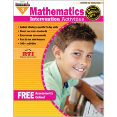 NEWMARK LEARNING EVERYDAY MATHEMATICS GR 3 INTERVENTION ACTIVITIES