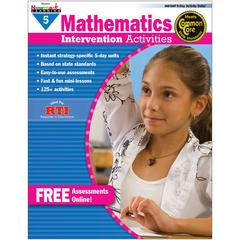 NEWMARK LEARNING EVERYDAY MATHEMATICS GR 5 INTERVENTION ACTIVITIES