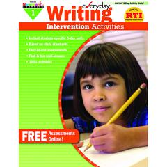 EVERYDAY WRITING GR 1 INTERVENTION ACTIVITIES