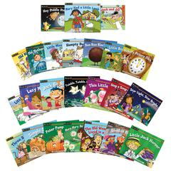NEWMARK LEARNING RISING READERS FICTION 24 TITLE SET VOLUMES 2 & 3 NURSERY RHYME TALES