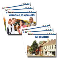 NEWMARK LEARNING EN ESPANOL SIGHT WORD READERS SOCIAL STUDIES SET OF 16