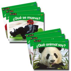 NEWMARK LEARNING EN ESPANOL SCIENCE VOL 1 SET OF 12 RISING READERS