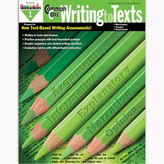 NEWMARK LEARNING COMMON CORE WRITING TO TEXT GR 1 BOOK