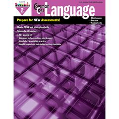 COMMON CORE PRACTICE LANGUAGE GR 2 BOOK