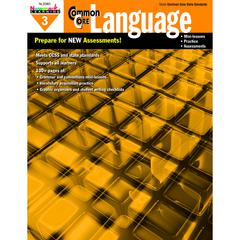 NEWMARK LEARNING COMMON CORE PRACTICE LANGUAGE GR 3 BOOK